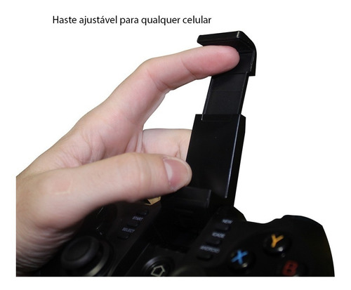 controle joystick ipega 9076 android celular pc ps3