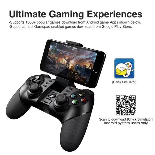 controle joystick ipega pg-9076 3 in 1 android e smart tv