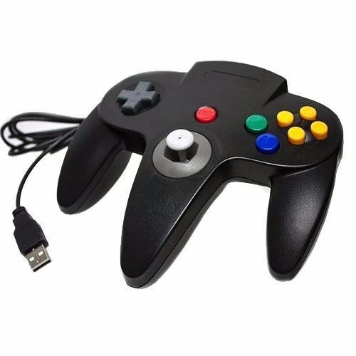 Controle Joystick Nintendo 64 N64 Usb Pc Mac Raspberry Linux - R$ 54,89 em Mercado Livre