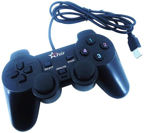 controle joystick usb analógico para pc notebook ps3 estoque
