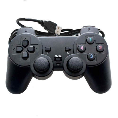 controle joystick usb para google tv box android 4k pc jogos