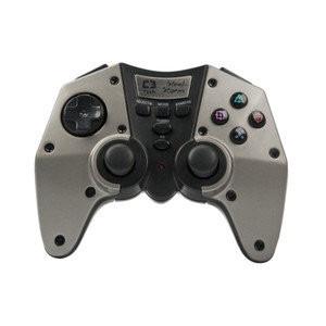 controle joystick wireless c3 tech steel storm pc/ps2/ps3