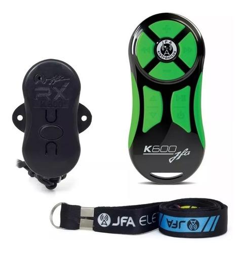 controle longa distancia completo jfa k600 preto / verde