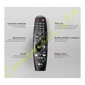 Controle Magic An-mr18ba Thinq Ai Comando P/ Voz Tv Lg 2018