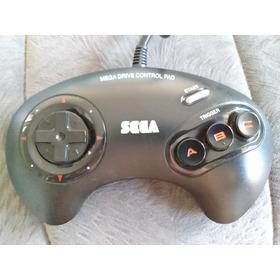 Controle Manete 3 Botões Mega Drive Original Tec Toy Antigo