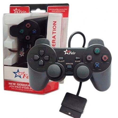 controle manete joystick ps2 feir lacrado 100% original