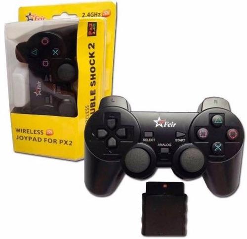 controle manete joystick ps2 feir original dualshock s fio