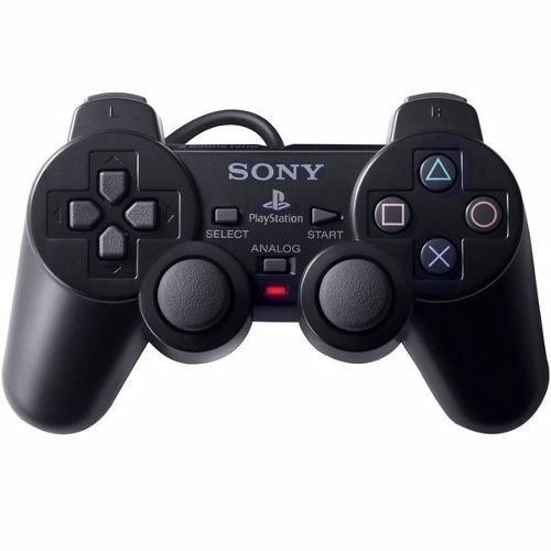 controle manete joystick serie a original ps2 sony