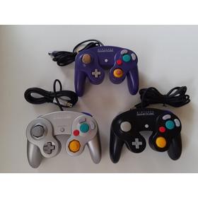Controle Original Game Cube Com O Analógico Novinho! 100% Ok