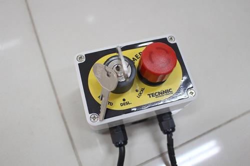 controle para munck - atende nr12 - sem instalação