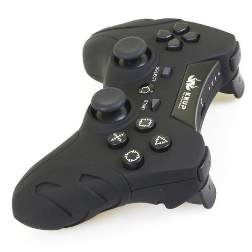 controle pc sem fio wireless recarregável joystick ps3 ps2