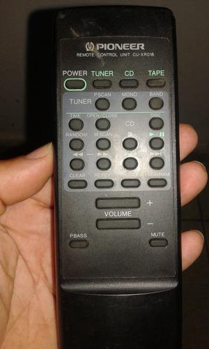 controle pioneer cu-xr018