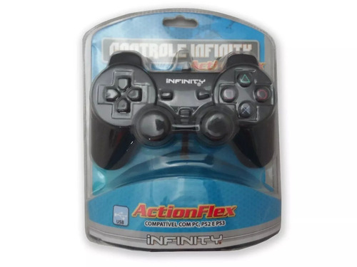controle playstation 2 dual shock2 ps2 paralelo infinity