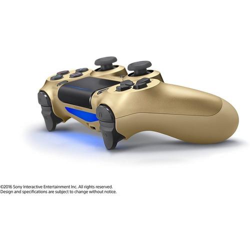 controle playstation dualshock 4 dourado original - ps4