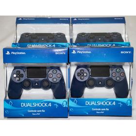 Controle Playstation Dualshock 4 Midnight Blue Original Ps4
