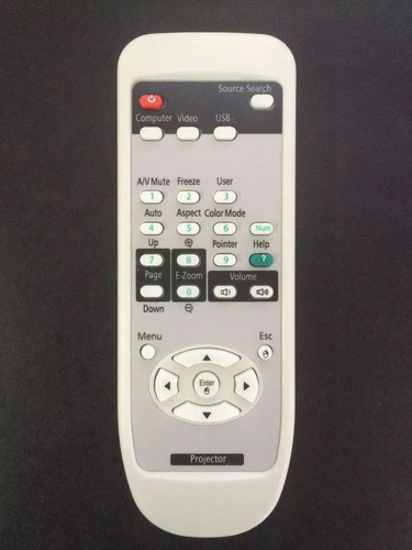 controle projetor epson s3/s4/s5/s10 powerlite
