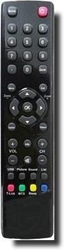 controle rc3000m01 para tv lcd philco e home philco pht670