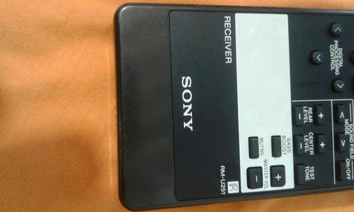 controle receiver sony rm-u251