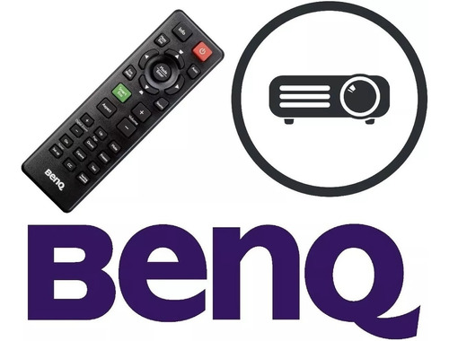 controle remoto 100% original p/ projetor benq mp522 mp522st
