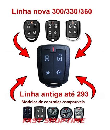 controle remoto alarme positron px42 flex 293/300/330/360