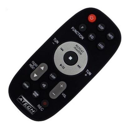 controle remoto aparelho de som lg mcd504 / mcs504f