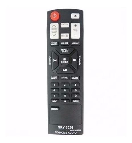 controle remoto aparelho de som lg mod. cm4330