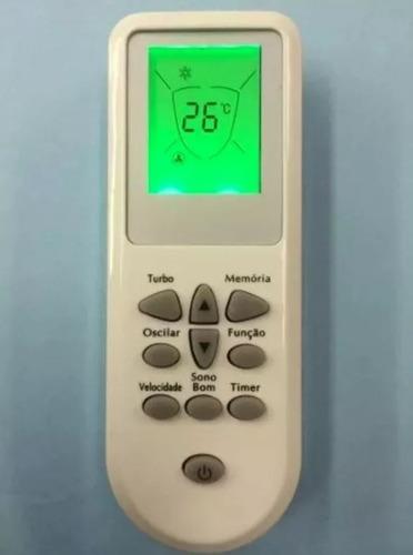 controle remoto ar condicionado consul split bem estar mxt