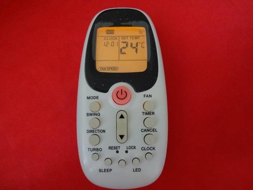 controle remoto ar condicionado split komeco r06/bgce-