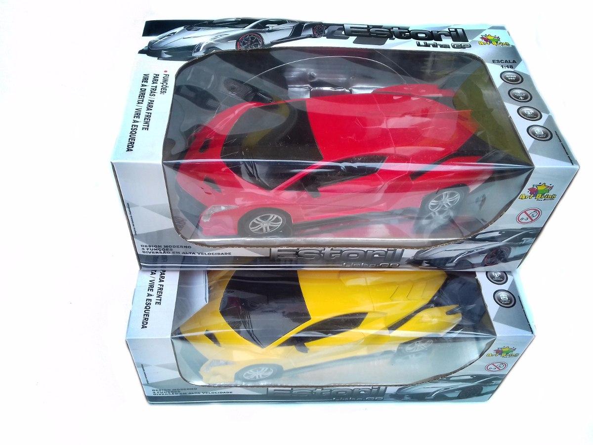 Carro Carrinho Controle Remoto Lamborghini Corrida 1 18 R 69 90 Em Mercado Livre