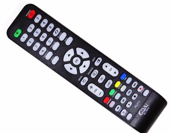 Controle Remoto Comp Tv Cce Rc-512 Stile D32/d40/d42 Gl-7974 - R ...
