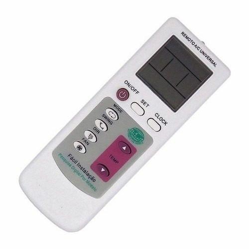 Controle Remoto Universal Ar Condicionado Eletrolux Lg