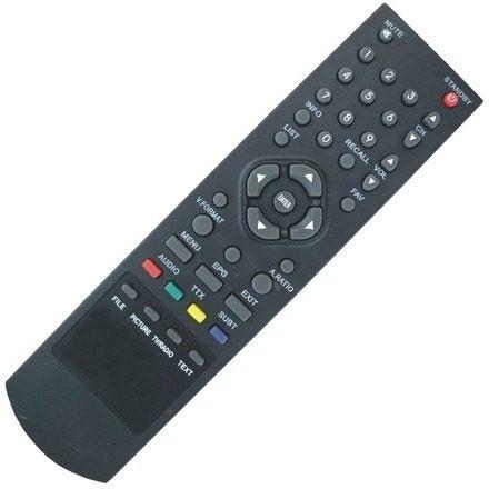 controle remoto conversor zinwell zbt601 / zbt602