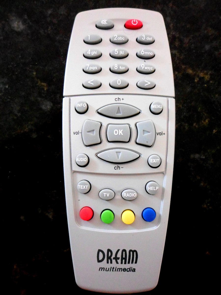 Controle Remoto Dream Multimedia Blackbox Dm 500 Preto