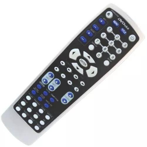 controle remoto dvd gradiente
