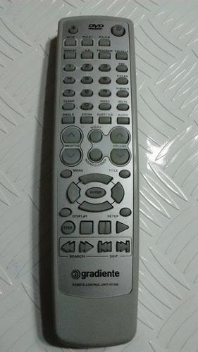 controle remoto dvd gradiente ht 500 hts 520