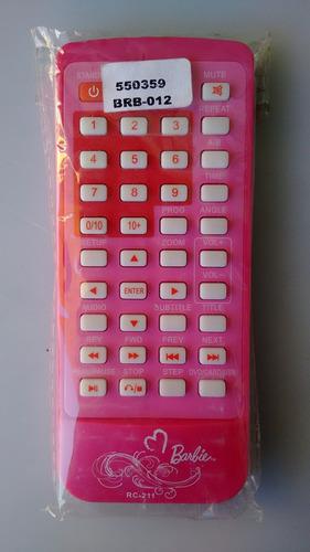 controle remoto dvd lenoxx barbie brb-012 / rc-211 original