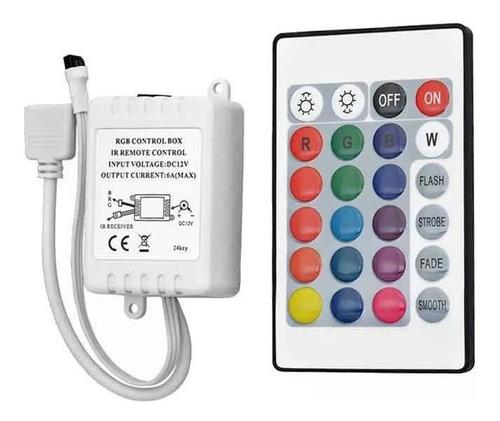 controle remoto e controladora para fita ultra led rgb