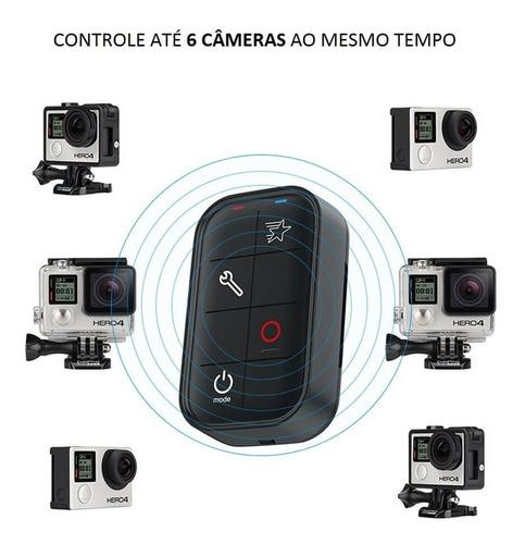 controle remoto gopro hero 3 / 4 / 5 / 6 / 7 black - telesin