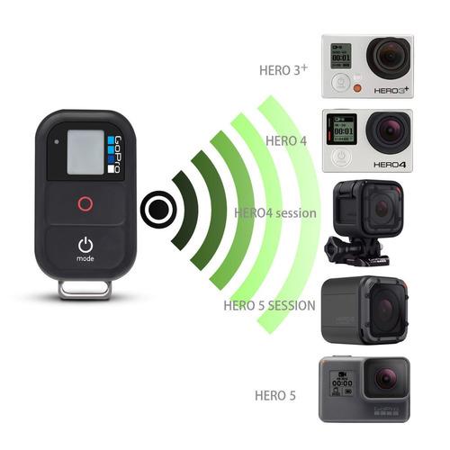 controle remoto gopro hero 3 - 4 - 5 - 6 wi-fi seminovo