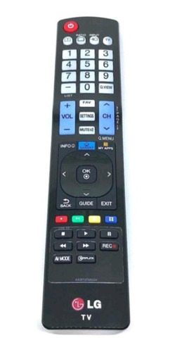 controle remoto lg smart myapps akb73756524 smartv original