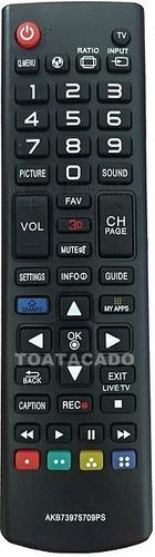 controle remoto lg subs akb73758511 smart tv led 3d 42la6130