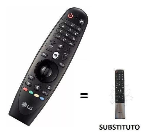 controle remoto magic smart tv lg an-mr600 original novo!!