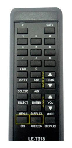 controle remoto net analógico le-7318 kit 5 unid atacado