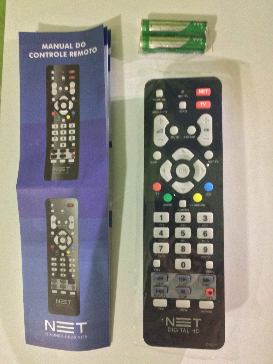 Controle Remoto Net Digital Hd E Hd Max+tv Original