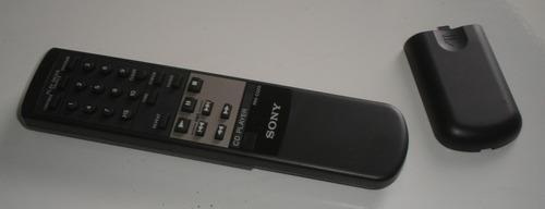 controle remoto original cd player sony rm-d320 usado+brinde
