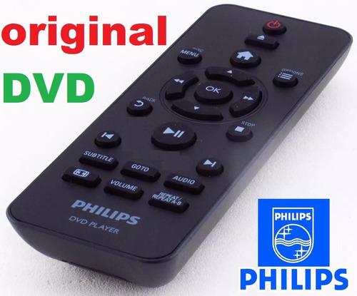 controle remoto original dvd philips dvp2850x/78 dvp2880x/78