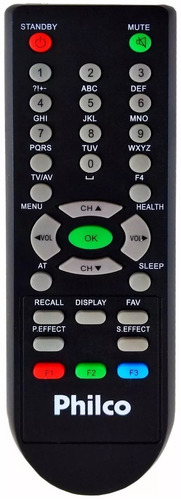 controle remoto original philco tv crt ph21ss super slim