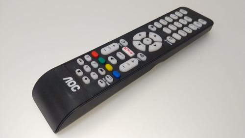 controle remoto original tv aoc netflix smart le32s5970 le43s5970 le32s5760 le43u7970 le50u7970 le55u7970 le49s5970 novo