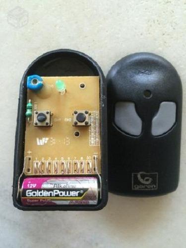 controle remoto p/ portão eletrônico 292 mhz garen