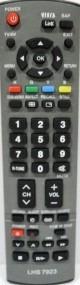 controle  remoto p/ tv  lcd  panasonic de 40 e 42